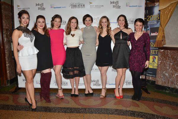 Megan Koumis, Lily Dickinson, Caitlyn Caughell, Liana Hunt, Laura Helm. Teresa Whitt, Rebecca Kuznick and Lauren Gobes