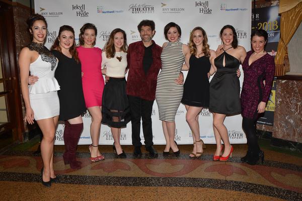 Paul Stancato, Megan Koumis, Lily Dickinson, Caitlyn Caughell, Liana Hunt, Laura Helm. Teresa Whitt, Rebecca Kuznick and Lauren Gobes