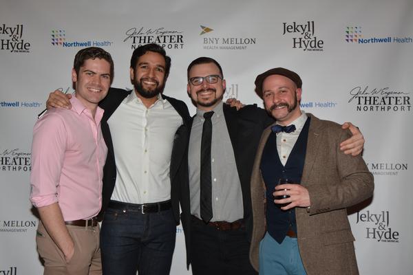 Ryan Boomquist, Deven Kolluri, Jake Mills and Danny Arnold Photo