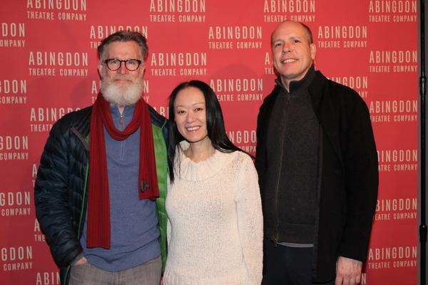 Tom Nelis, Akiko Aizawa and Stephen Duff Webber Photo
