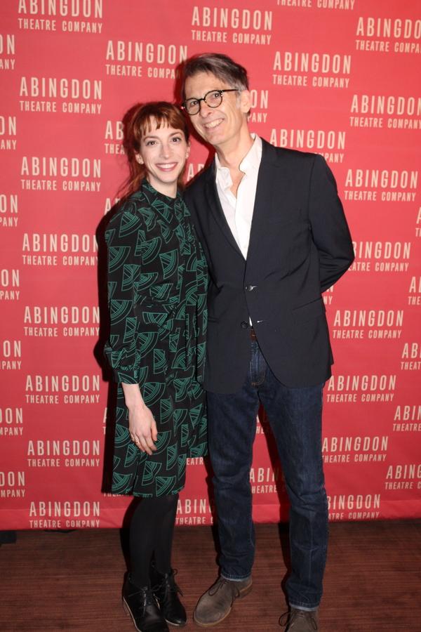 Molly Bernard and Will Bond