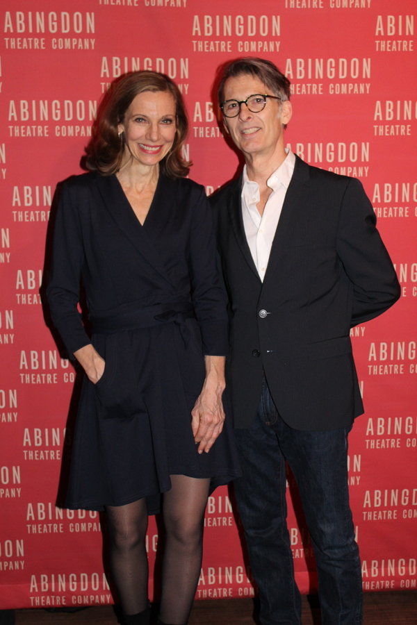 Ellen Lauren and Will Bond