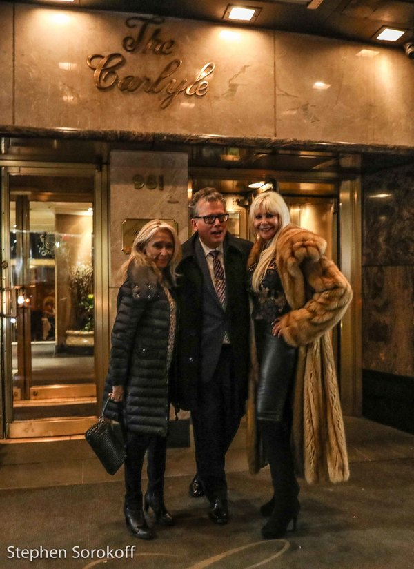 Photo Coverage: LIVE FROM NEW YORK, It's Sunday Night With Caruso & Stritch at The Carlyle