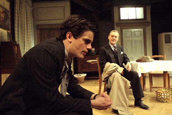 Edward Bluemel and Anthony Head