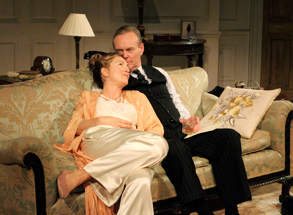 Eve Best and Anthony Head