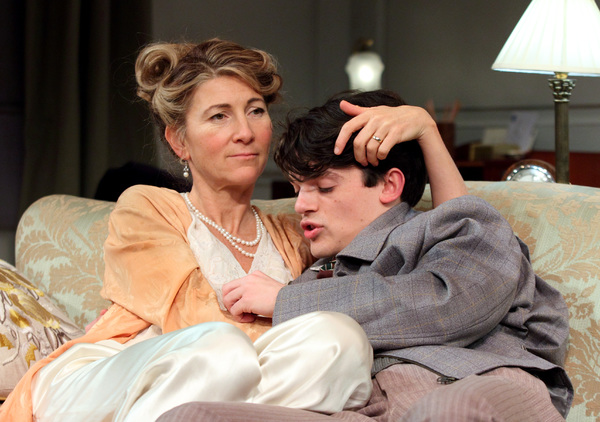 Eve Best and Edward Bluemel