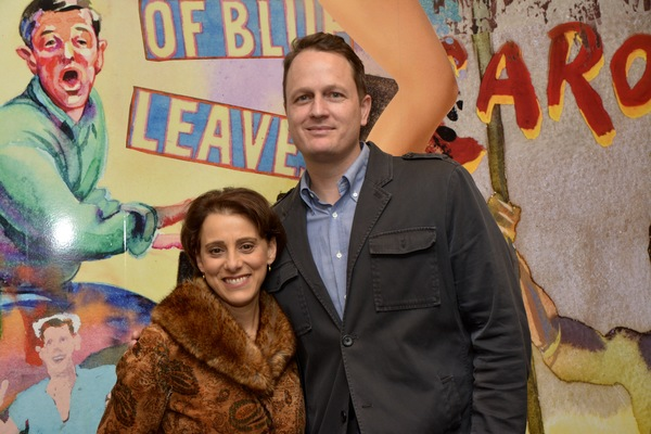 Judy Kuhn and Todd Almond