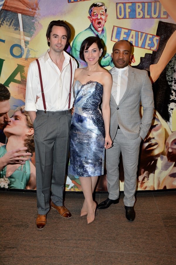 David McElwee, Lena Hall, and Austin Smith