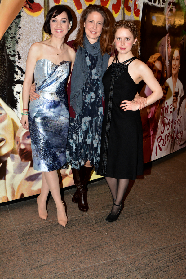 Lena Hall, Robin Weigert and Naian Gonzalez Norvind Photo