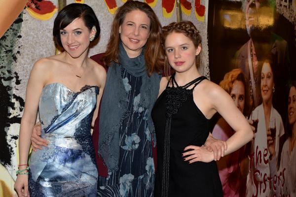 Lena Hall, Robin Weigert and Naian Gonzalez Norvind