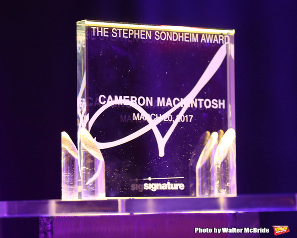Sondheim Award to Cameron Mackintosh