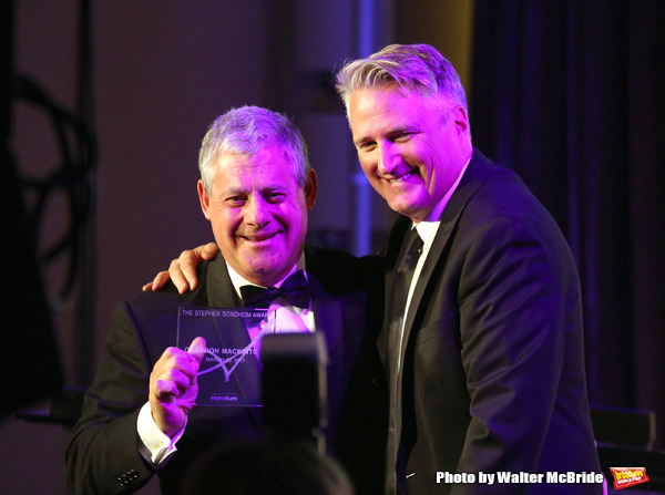 Cameron Mackintosh and Eric Schaeffer