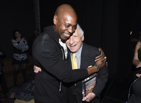Dave Chapelle and Mel Brooks