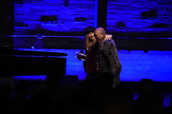 Barbra Streisand and Quincy Jones