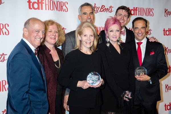 Earl D. Weiner, Victoria Bailey, Daryl Roth, Jerry Mitchell, Cyndi Lauper, Will Van Dyke, Hal Luftig
