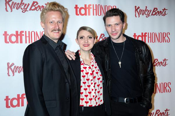 Nathan Peck, Annaleigh Ashford, Joey Taranto