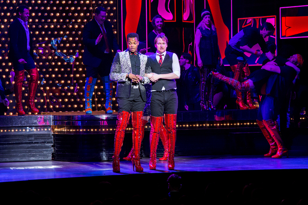 Photo Coverage: Say Yeah! Original KINKY BOOTS Cast Reunites at the TDF Honors