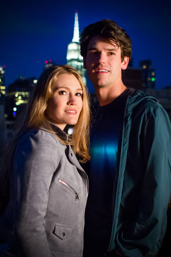 Kristin Stokes and Chris McCarrell