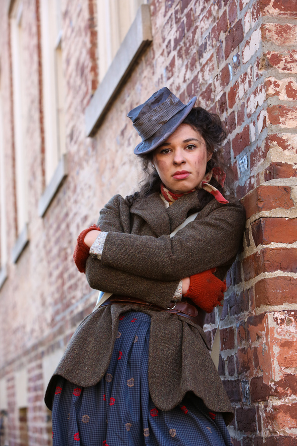 Photo Flash: Sneak Peek at Newcomer Mia Pinero in Character for PlayMakers' MY FAIR LADY