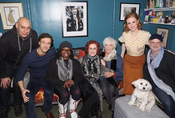 Fred Johanson, Michael Xavier, Whoopi Goldberg, Glenn Close, Betty Buckley and Siobhan Dillon