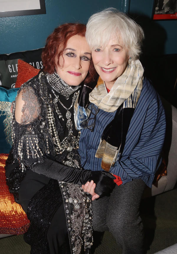 Glenn Close and Betty Buckley