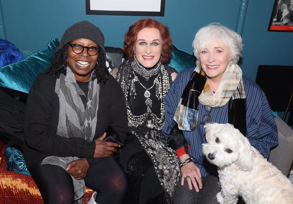 Whoopi Goldberg, Glenn Close and Betty Buckley