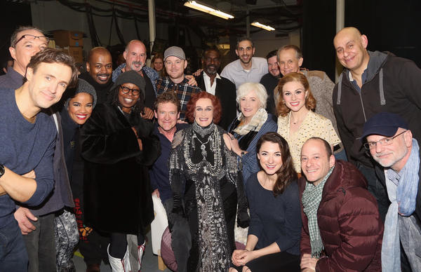 Betty Buckley, Whoopi Goldberg and the cast of SUNSET BOULEVARD