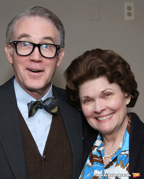 Boyd Gaines and Debra Monk