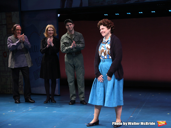 Will LeBow, Kaitlyn Davidson, Corey March and Debra Monk