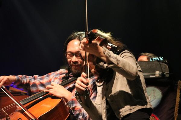 Joe Kwon and Tania Elizabeth