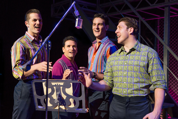 Photos: Sneak Peek at JERSEY BOYS, Coming to the Ahmanson This Spring