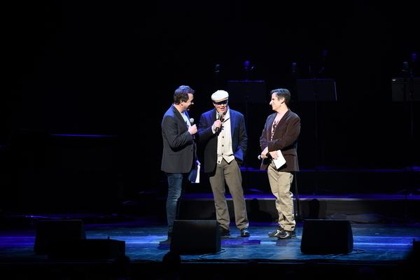 James Wesley, James McElroy and Seth Rudetsky