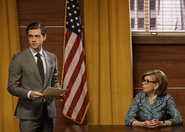 Photo Flash: BWW Exclusive First Look - Aaron Tveit Guests on THE GOOD FIGHT