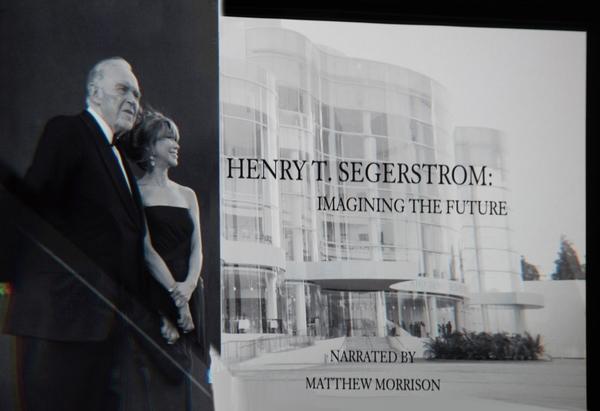 Henry Segerstrom, Elizabeth Segerstrom Photo