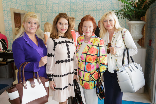 Robin Jay, Jean Shafiroff, Edwina Sandys, Ava Roosevelt