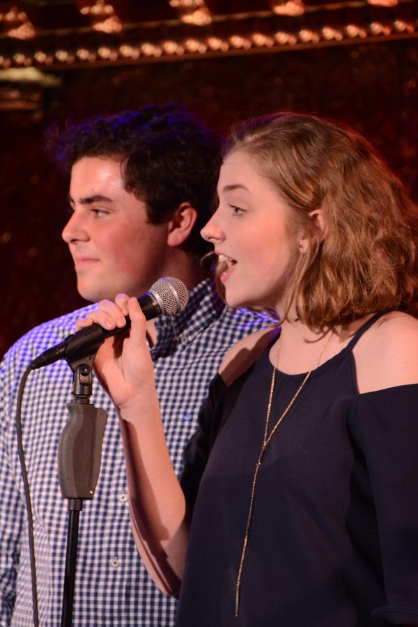 Keegan McManus and Erin Manion