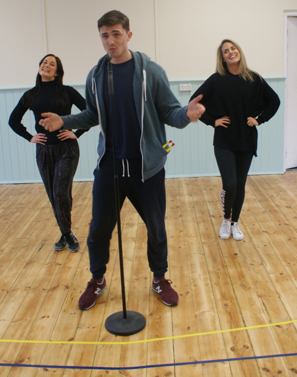 Lauren Cocoracchio, Damien Walsh & Robyn Mellor  Photo
