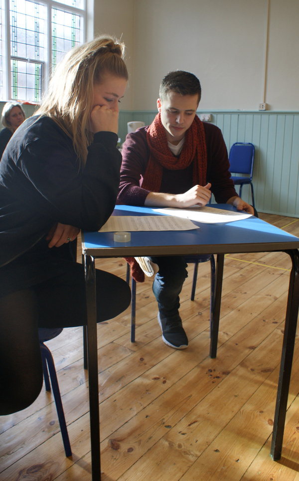 Photo Flash: First Look at Rehearsals for Neil Sedaka Musical BREAKING UP IS HARD TO DO