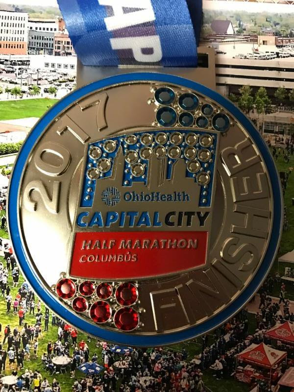 OhioHealth Capital City Half Marathon Reveals Bling for 2017 Finishers; Sell-Out On Record Pace! Prices Increase 3/31