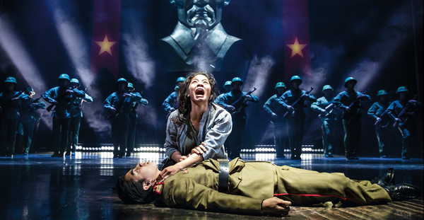 Eva Noblezada and Devin Ilaw
