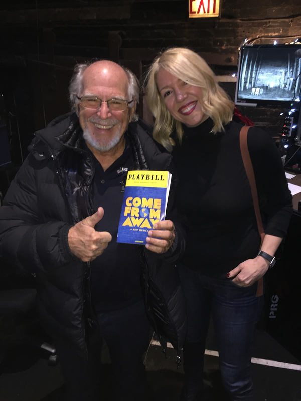 Photo Flash: Jimmy Buffett Takes a Break from Margaritaville to See COME FROM AWAY