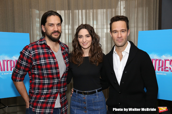 FREEZE FRAME: Sara Bareilles,  Chris Diamantopoulos & Will Swenson Get Ready for Their WAITRESS Debuts!