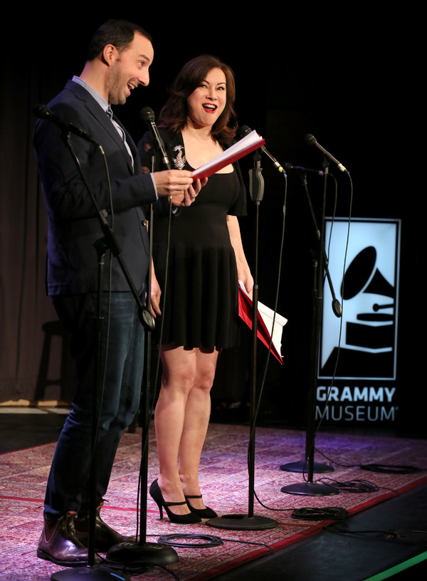 Tony Hale and Jennifer Tilly