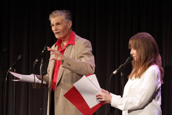 Fred Willard and Laraine Newman