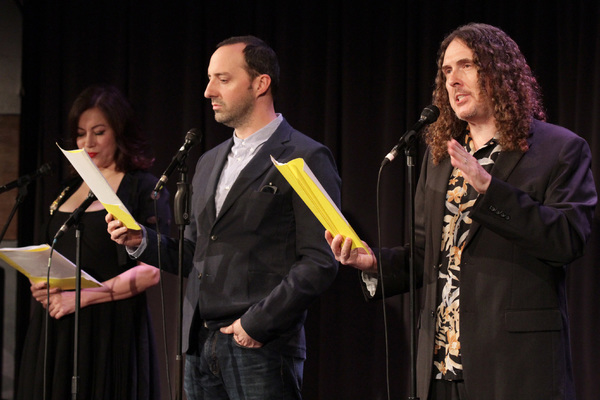 Jennifer Tilly, Tony Hale and 'Weird Al' Yankovic Photo
