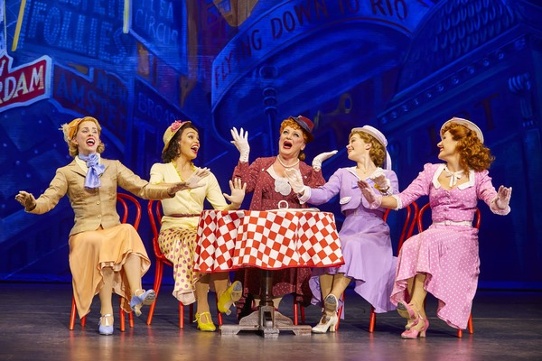 Photo Flash: Shuffle Off with Brand-New Shots of 42ND STREET in London