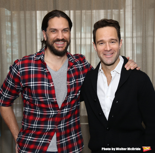 Will Swenson and Chris Diamantopoulos