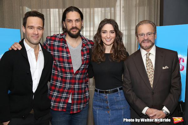 Chris Diamantopoulos, Will Swenson, Sara Bareilles and Producer Barry Weissler