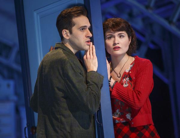 Adam Chanler-Berat and Phillipa Soo