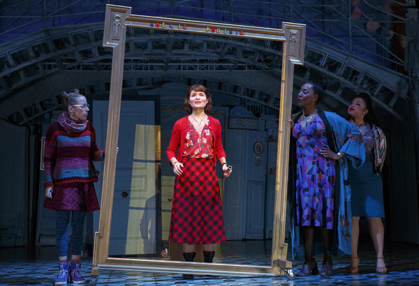 Photo Flash: A Dreamer Arrives on Broadway! See Phillipa Soo, Adam Chanler-Berat and More in AMELIE